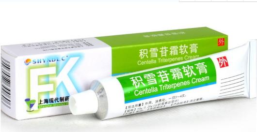 积雪苷霜软膏(肤康霜) 30g
