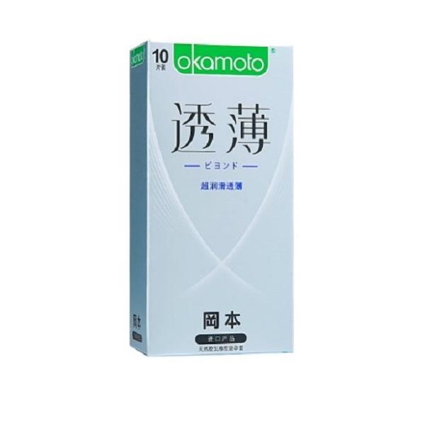 冈本避孕套-超润滑透薄